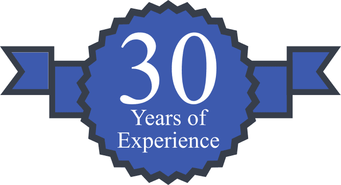 30 Years of Experience Certificate