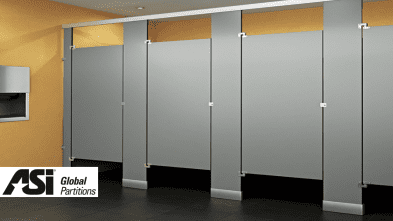 toilet partitions by asi