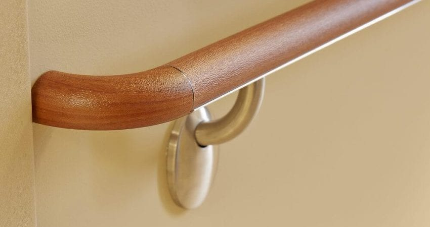Wooden Handrails - Wall Protection
