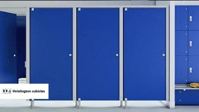 toilet partitions by thrislington