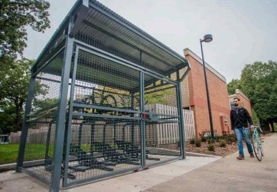 bike cage storage