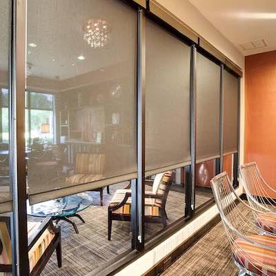 window shade installer
