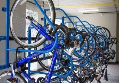 hanging bike racks