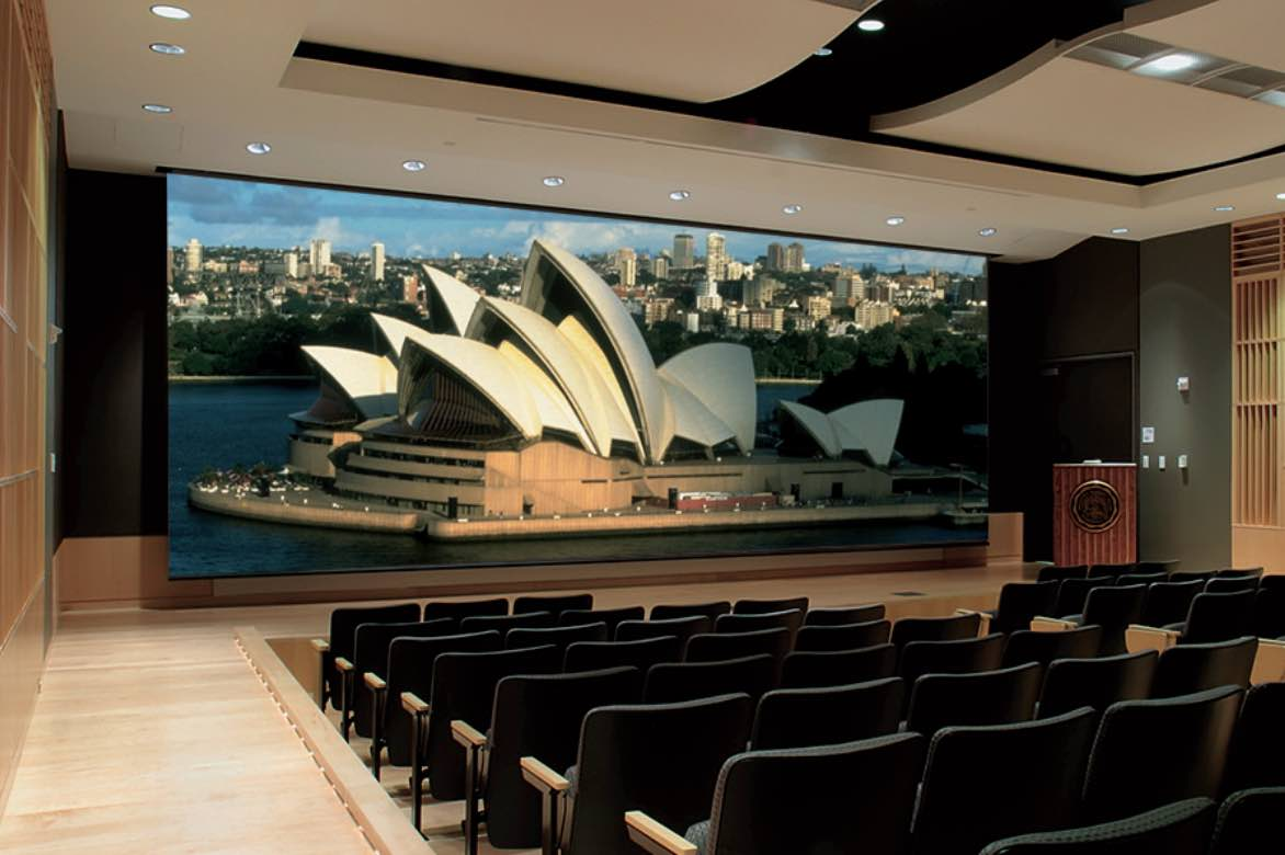 Commercial Projector Screens