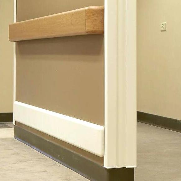 hospital wall protection