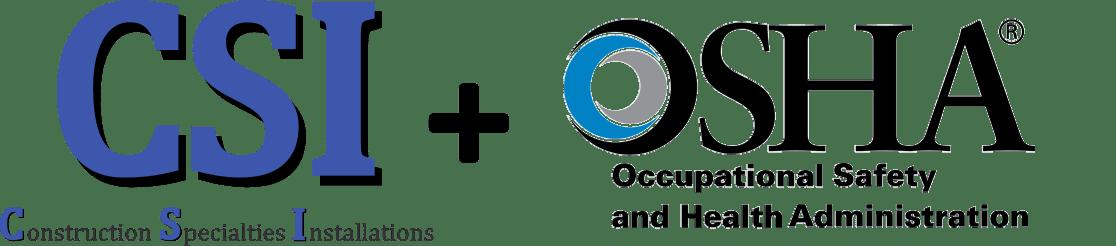 CSI+OSHA logos