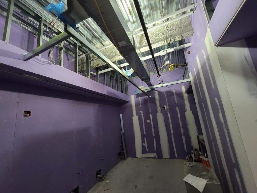 Unistrut Installation on Job Site