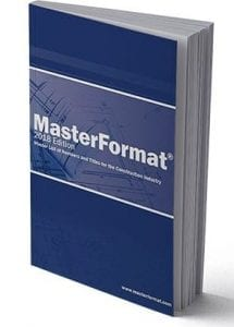 MasterFormat Book