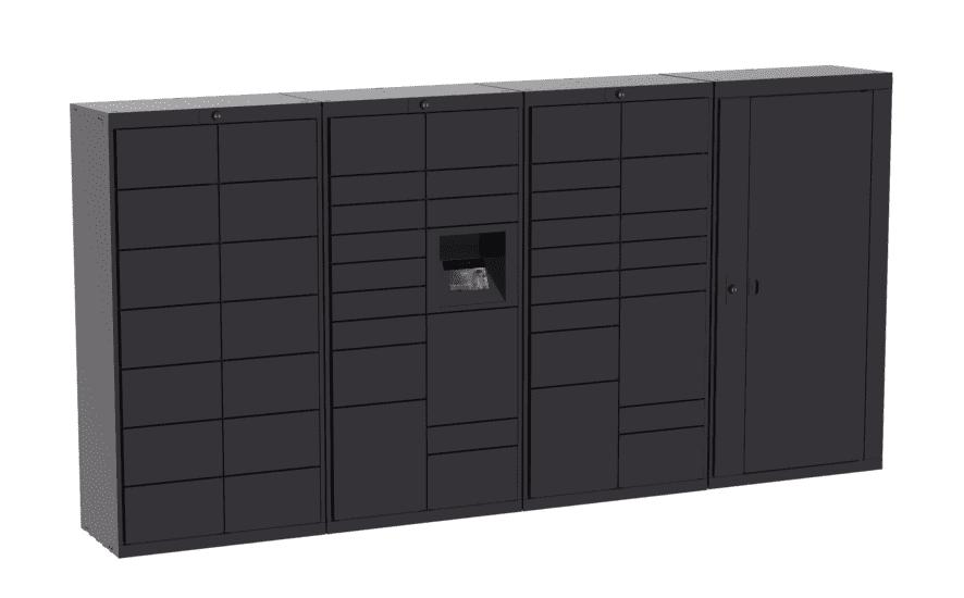 Standard Black Luxer Lockers