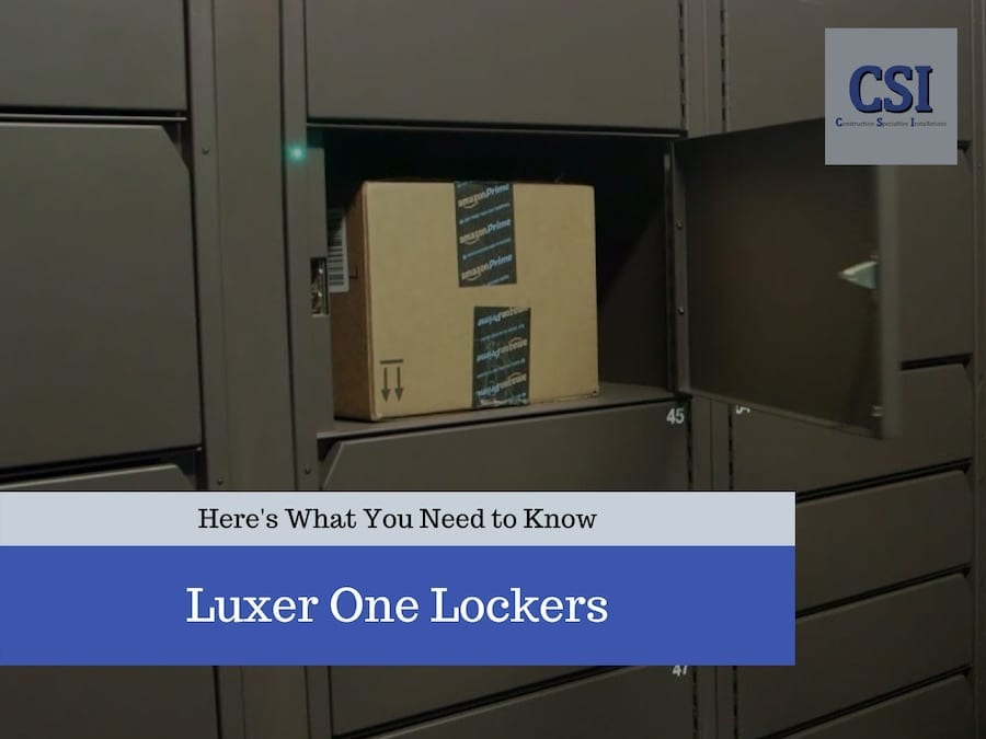 Luxer One Lockers