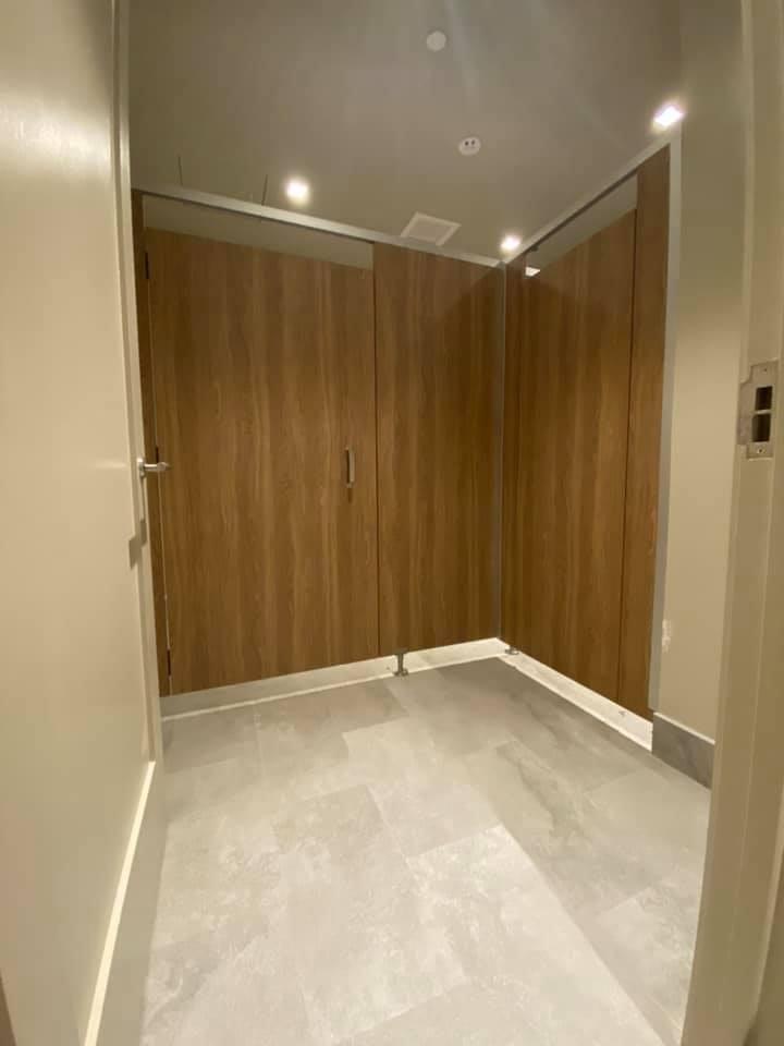 Miraval Berkshires Toilet Partition Installation