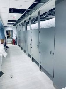 Stainless Toilet Partitions