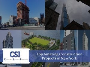 Top Construction Projects New York